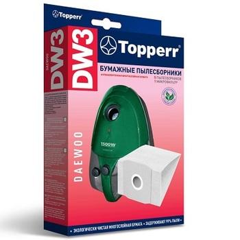 Мешки-пылесборники Topperr DW3, 5шт. + 1 микрофильтр, бумажные