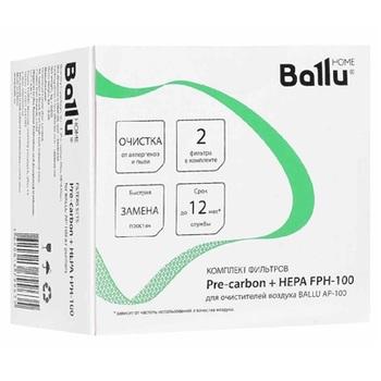 HEPA & Pre-Carbon Ballu FPH-100