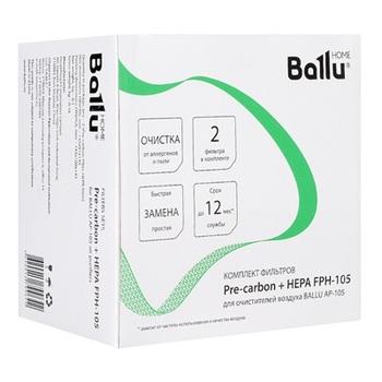 HEPA & Pre-Carbon Ballu FPH-105