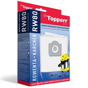 Мешки-пылесборники Topperr RW80, 2 шт., синтетические