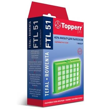 HEPA фильтр для пылесосов Topperr FTL51